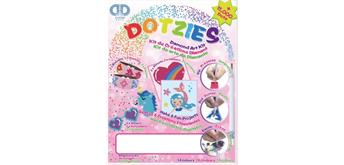 Diamond Dotz Dotzies Diamond Art Kit pink