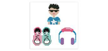 Diamond Dotz Dotzies - Sticker 3-er Set Cool Boy