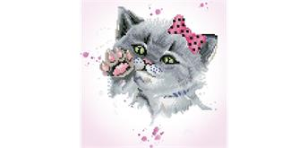 Diamond Dotz Eye Spy Kitty 32 x 32 cm