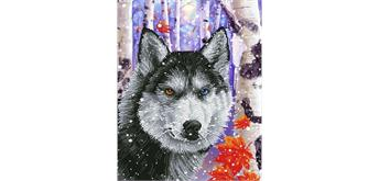 Diamond Dotz Forest Wolf 40 x 50 cm