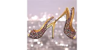 Diamond Dotz High Heels 32 x 32 cm