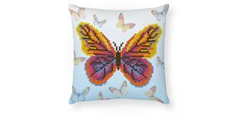 Diamond Dotz Kissen Schmetterling 18 x 18 cm