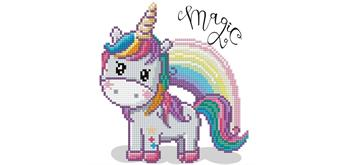 Diamond Dotz Magic Rainbow 20 x 20 cm