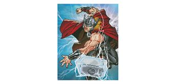Diamond Dotz Marvel Avengers Thor Strikes 42 x 53 cm