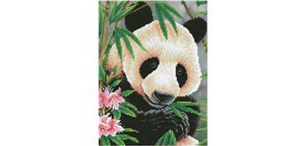 Diamond Dotz Panda Prince 30 x 40 cm