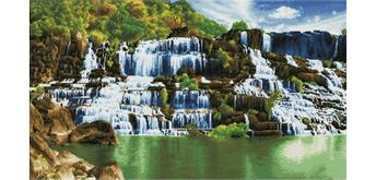 Diamond Dotz Pongour Waterfall 101 x 57 cm