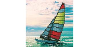 Diamond Dotz Sailboat 20.3 x 20.3 cm