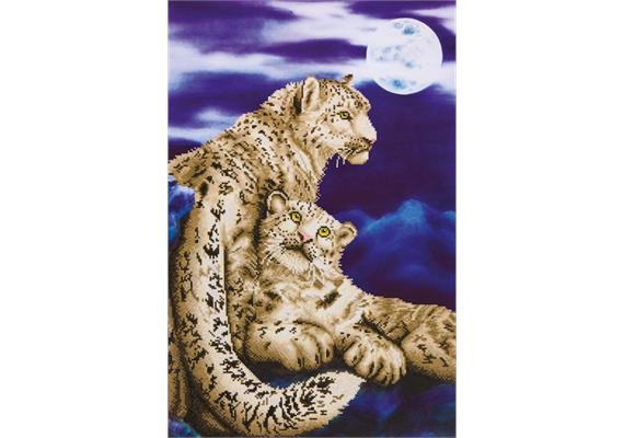 Diamond Dotz Snow Leopards 52 x 77 cm