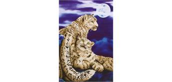 Diamond Dotz Snow Leopards 52 x 77 cm