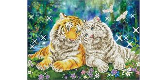 Diamond Dotz Tiger Smooch 77 x 55 cm