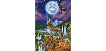 Diamond Dotz Wolf 47 x 67 cm