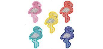 Diamond Painting QC030 Schlüsselanhänger Flamingo
