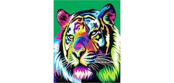 Diamond Painting Set FH377 Tiger Square Stones 50 x 40 cm