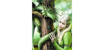 Diamond Painting Set FZX364 Dragon Lady Square Stones 50 x 40 cm