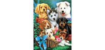 Diamond Painting Set GD71435 Dogs 40 x 30 cm