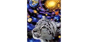 Diamond Painting Set GM1050 Tiger Cub 50 x 40 cm