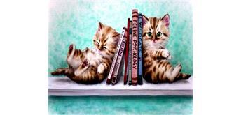 Diamond Painting Set GX573 Kittens 40 x 30 cm