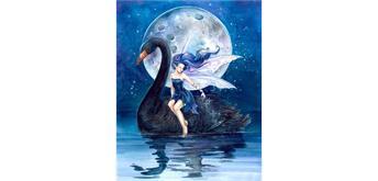 Diamond Painting Set HX355 Black Swan 40 x 30 cm