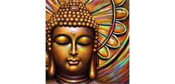 Diamond Painting Set M1061 Buddha 50 x 40 cm