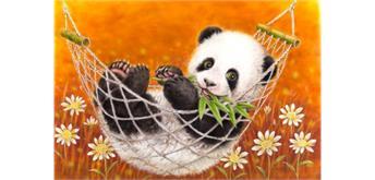 Diamond Painting Set Q369 Panda 20 x 30 cm