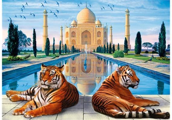 Diamond Painting Set RSB8450 Tigers 50 x 40 cm
