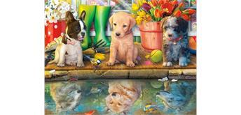 Diamond Painting Set SD005 Dogs 50 x 40 cm
