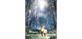 Diamond Painting Set X132 Forest Deer 40 x 30 cm