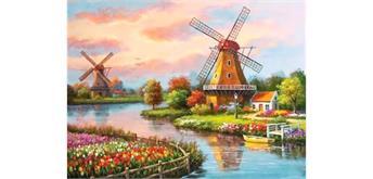 Diamond Painting Set X396 Windmills 40 x 30 cm