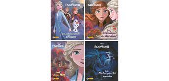 Disney die Eiskönigin 2, Bücher 1 - 4