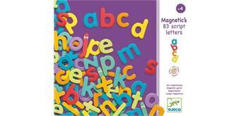 Djeco 03102 Magnete 83 Buchstaben klein