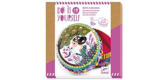 Djeco 07906 - DIY - Box zum dekorieren Geheimnisse