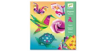 Djeco 08754 - Origami Tropische Schätze