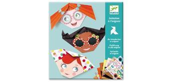 Djeco 08757 Origami Gesichter