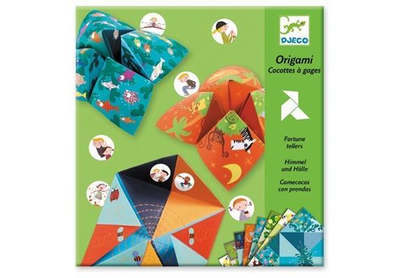 Djeco 08764 Origami Himmel und Hölle
