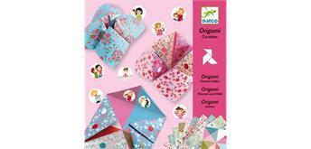 Djeco 08773 Origami Himmel und Hölle pink
