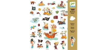 Djeco 08839 - Sticker Piraten