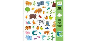 Djeco 08841 - Sticker Tiere