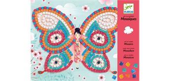 Djeco 08898 Mosaik Schmetterling