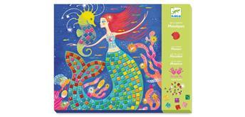 Djeco 09423 - Mosaik Meerjungfrauen