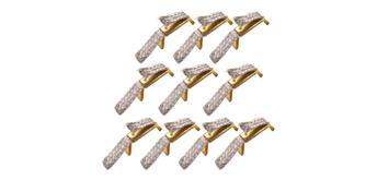 Doppelschleifer für Carrera GO! und Digital 143. Inhalt: 10 Stück