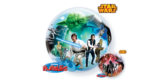 Double Bubble Ø 56 cm, Star Wars Todesstern, ohne Füllung