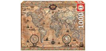 Educa 15159 - Antique World Map 1000 Teile