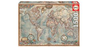 Educa 16005 - Political Map of the World 1500 Teile