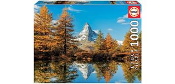 Educa 17973 - Matterhorn im Herbst 1000 Teile