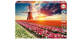 Educa 18465 - Tulips Landscape 1500 Teile