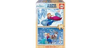 Educa Holzpuzzle 16802 - Frozen 2 x 50 Teile