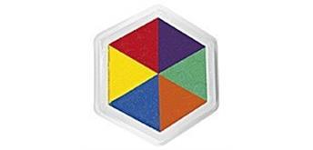 Eduplay Riesenstempelkissen, Multicolor, 6 Farben