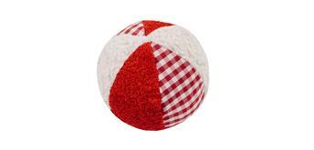Efie Rassel Ball klein weiss/rot