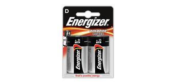 Energizer Batterie Mono D 2er Alkaline Power