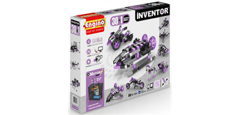 Engino Inventor 30 Models Motorized Set Violett
